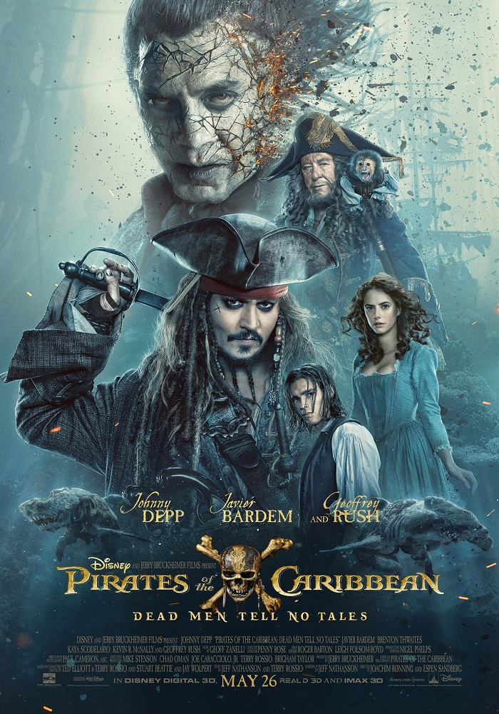 Pirates of the Caribbean: Dead Men Tell No Tales kapak