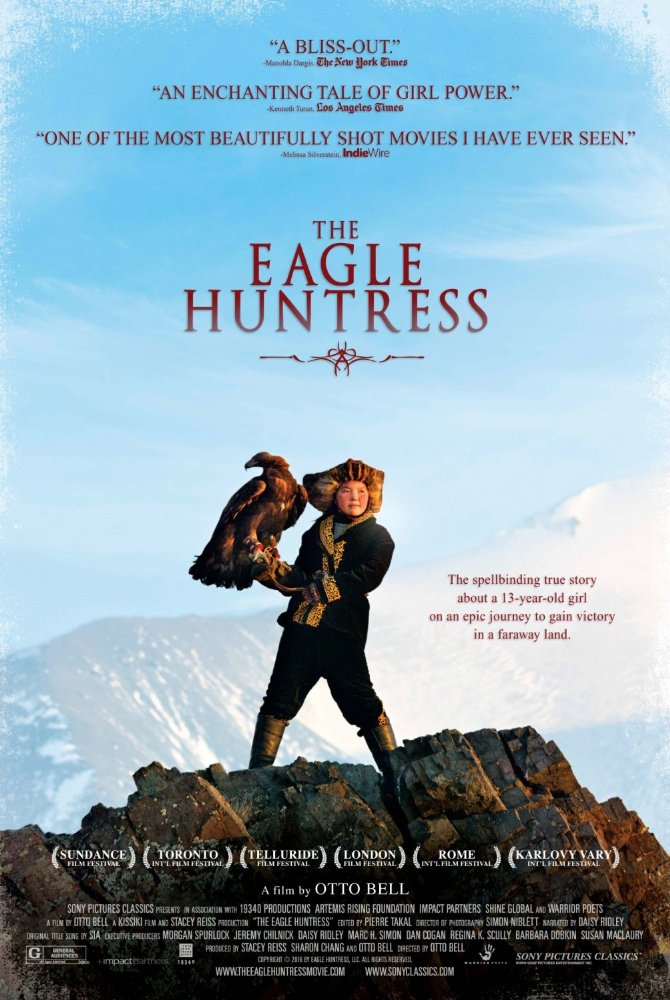 The Eagle Huntress kapak