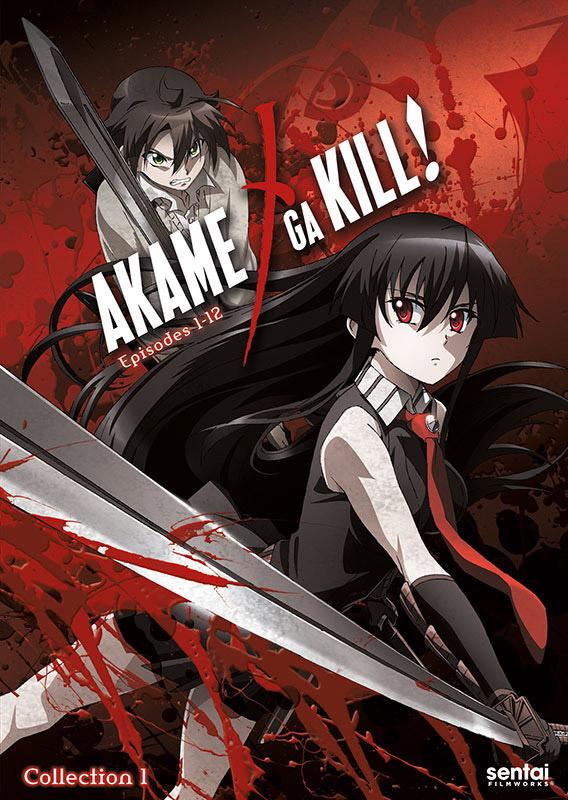 Akame ga Kill! kapak