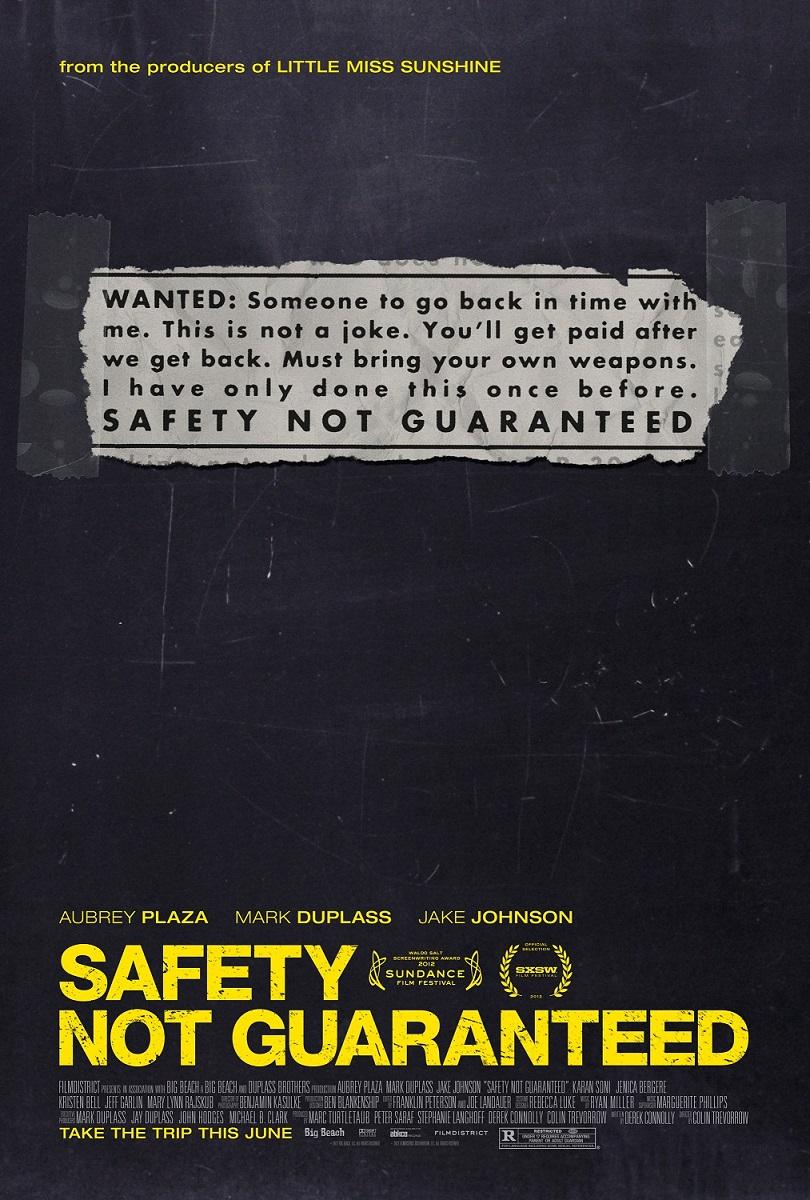 Safety Not Guaranteed kapak