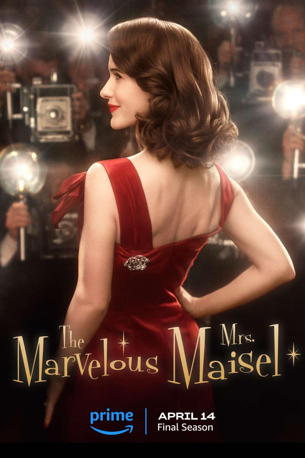 The Marvelous Mrs. Maisel kapak