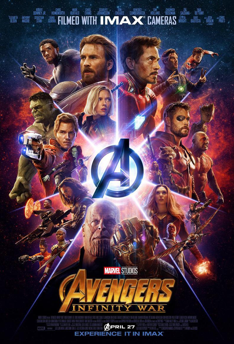 Avengers: Infinity War kapak