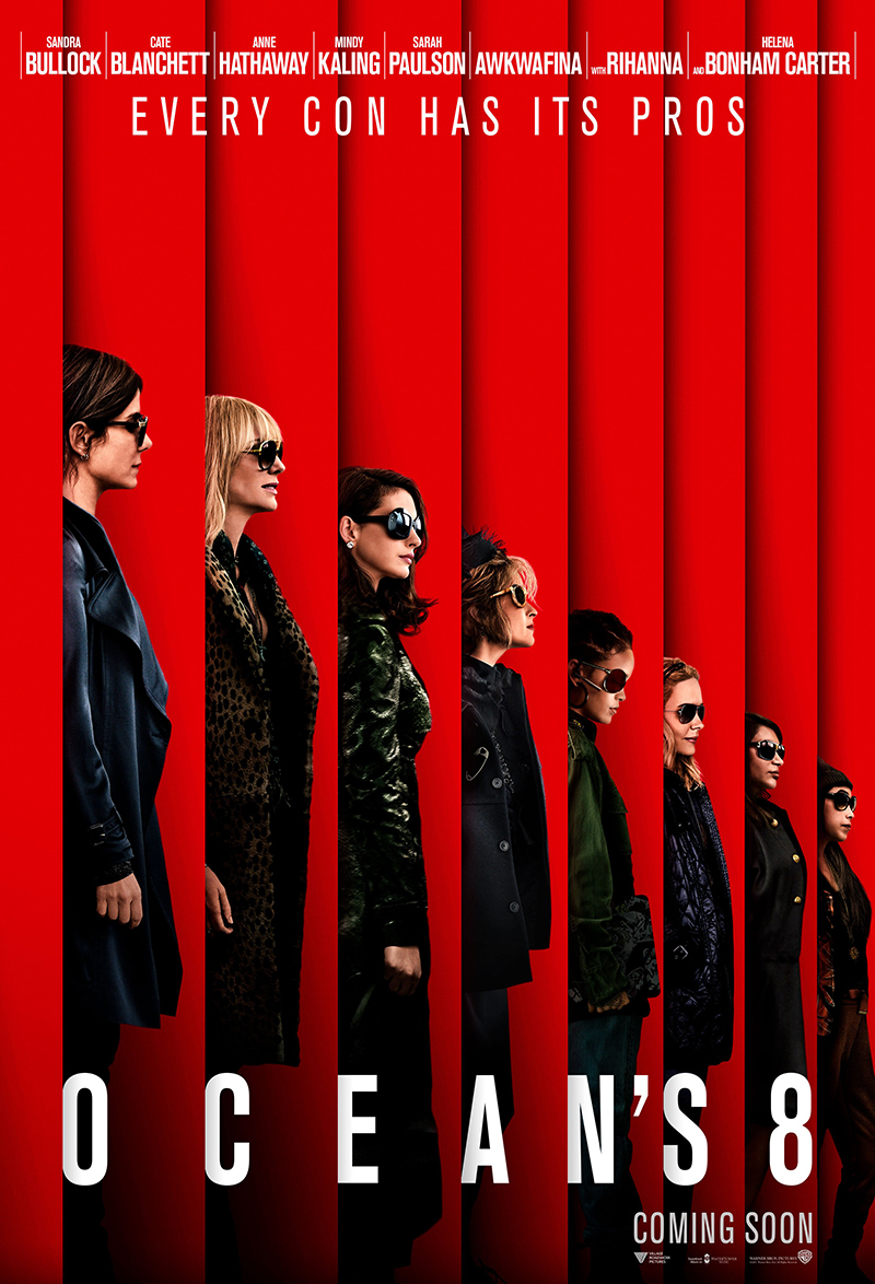 Ocean's Eight kapak
