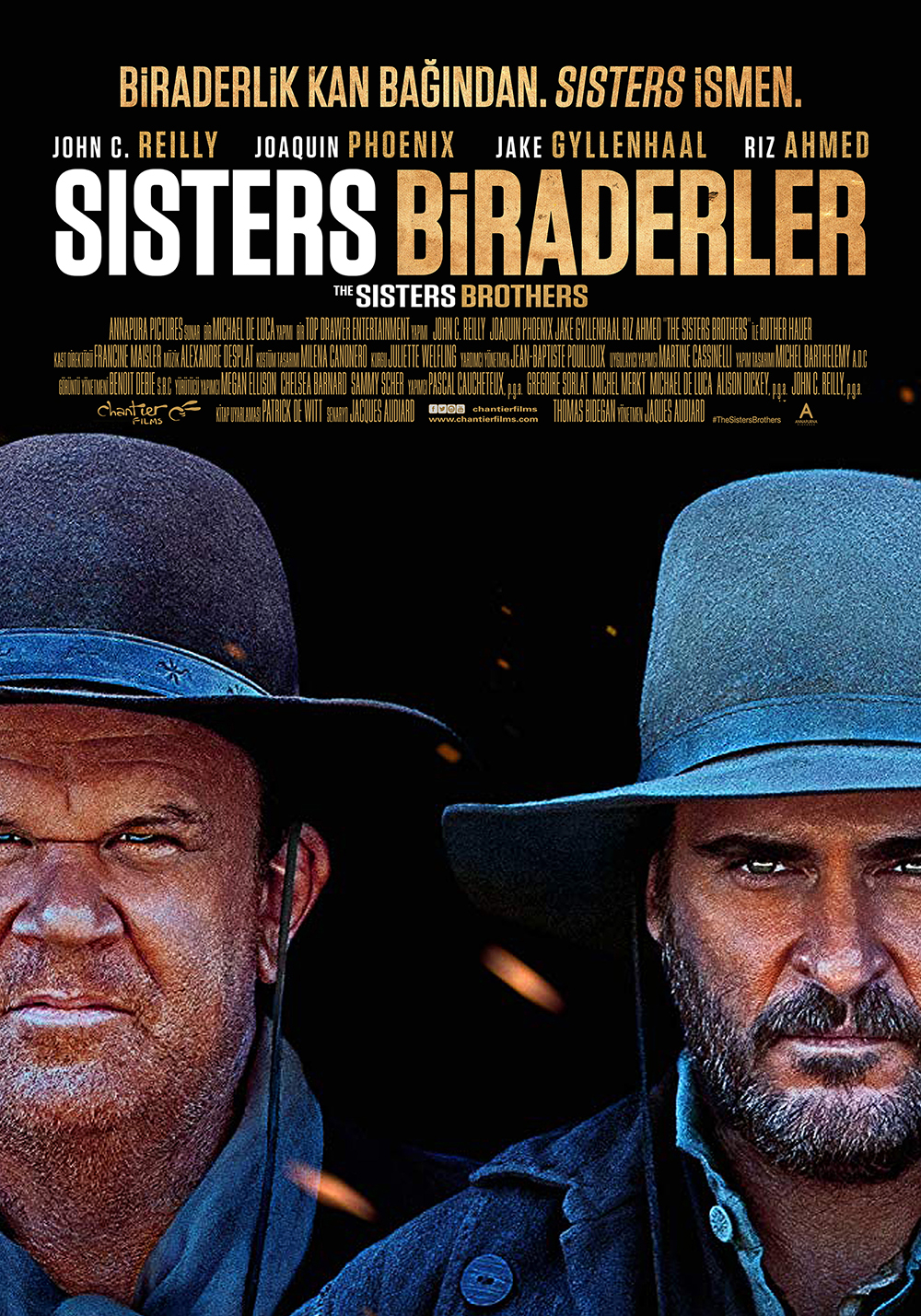 The Sisters Brothers kapak
