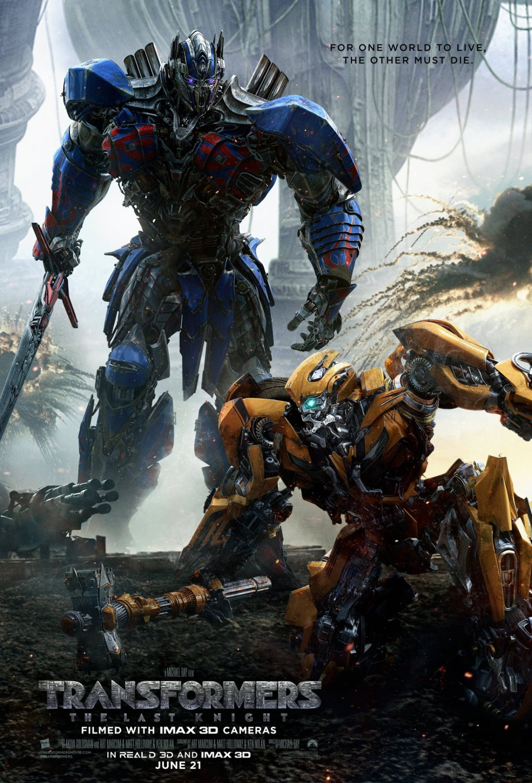 Transformers: The Last Knight kapak