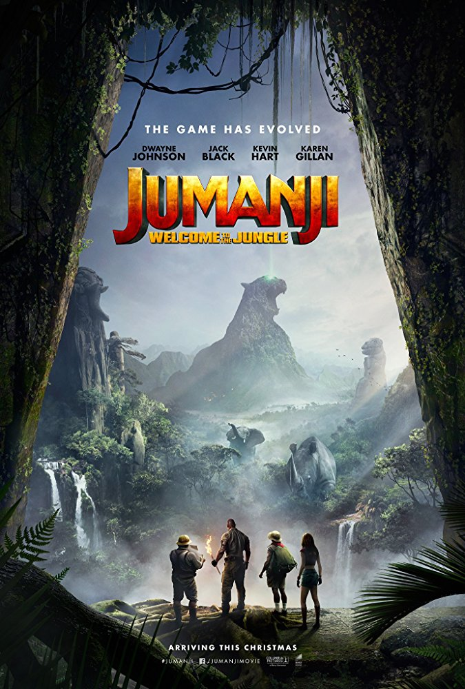 Jumanji: Welcome to the Jungle kapak