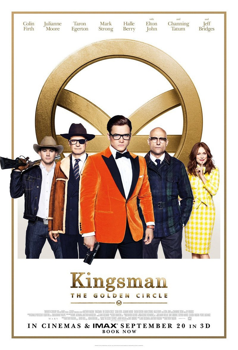 Kingsman: The Golden Circle kapak