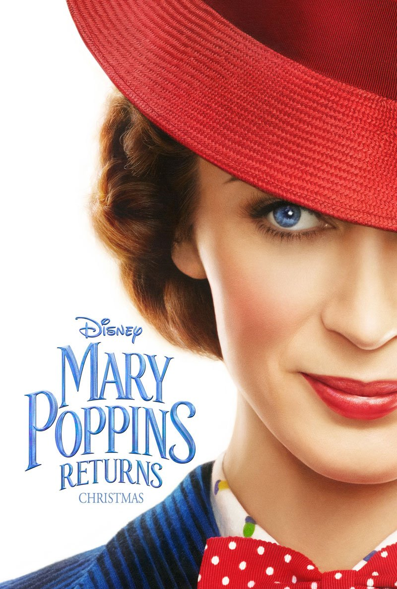 Mary Poppins Returns kapak