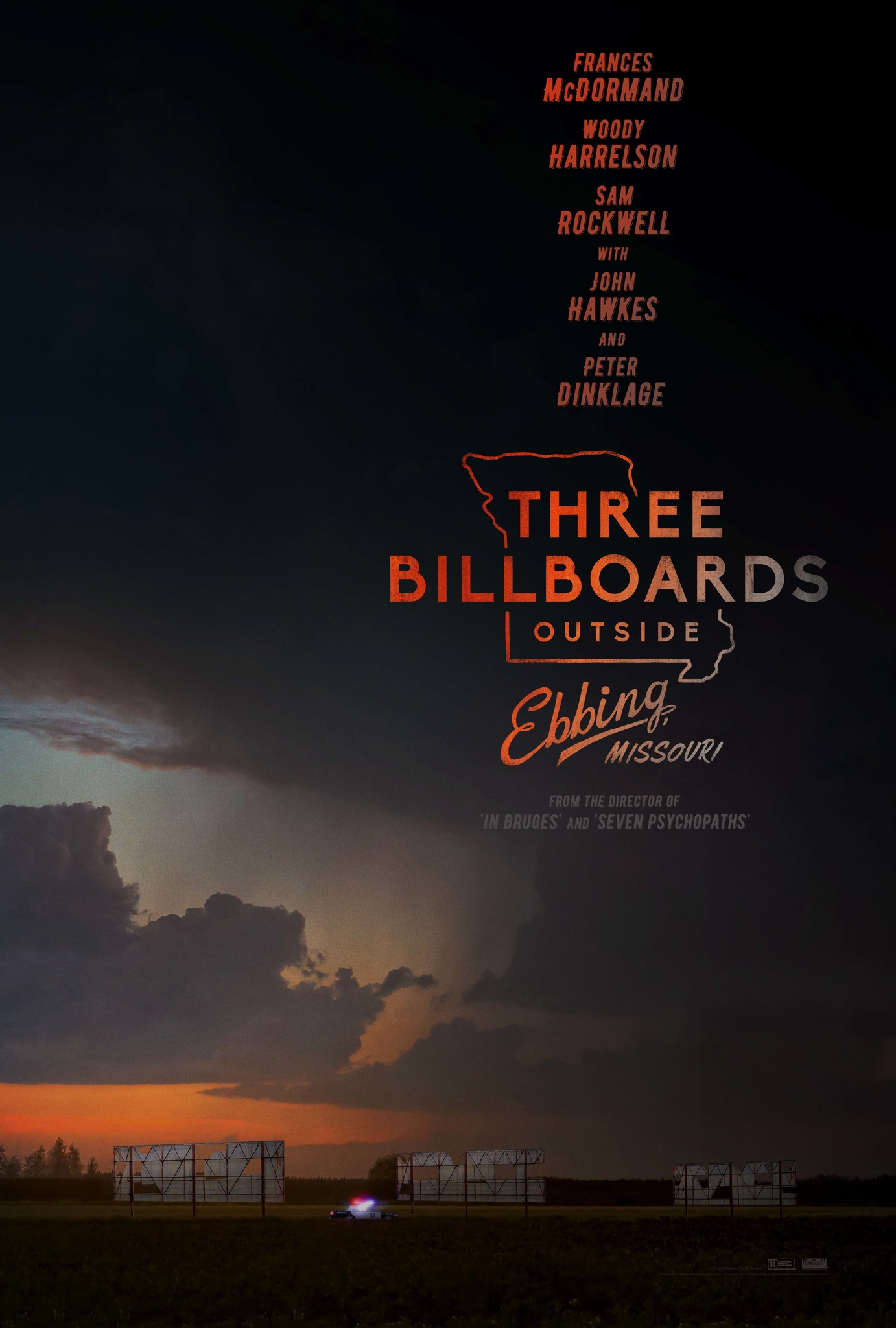 Three Billboards Outside Ebbing, Missouri kapak