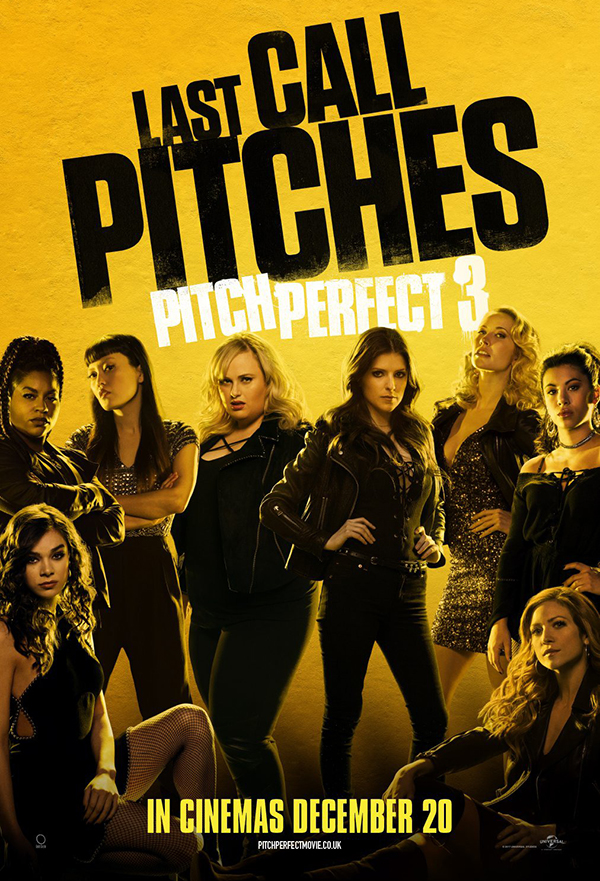 Pitch Perfect 3 kapak