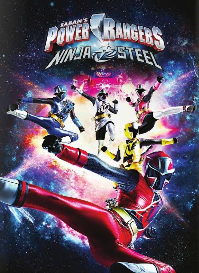 Power Rangers Ninja Steel kapak