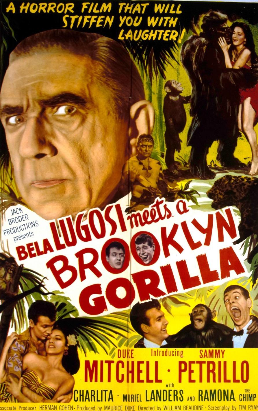 Bela Lugosi Meets a Brooklyn Gorilla kapak