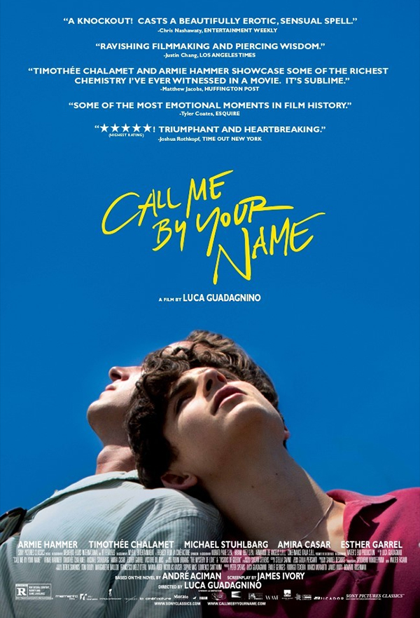 Call Me by Your Name kapak