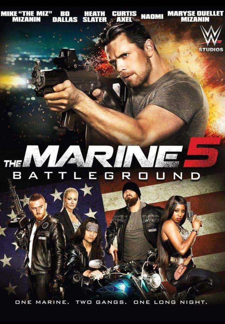 The Marine 5: Battleground kapak