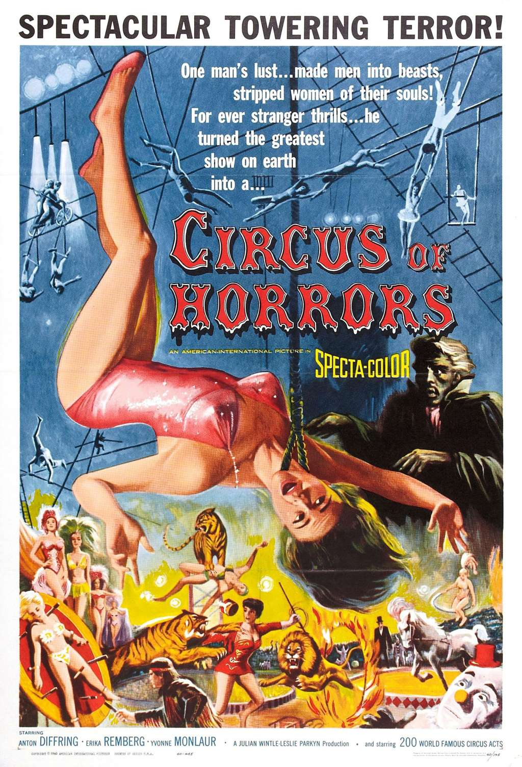 Circus of Horrors kapak