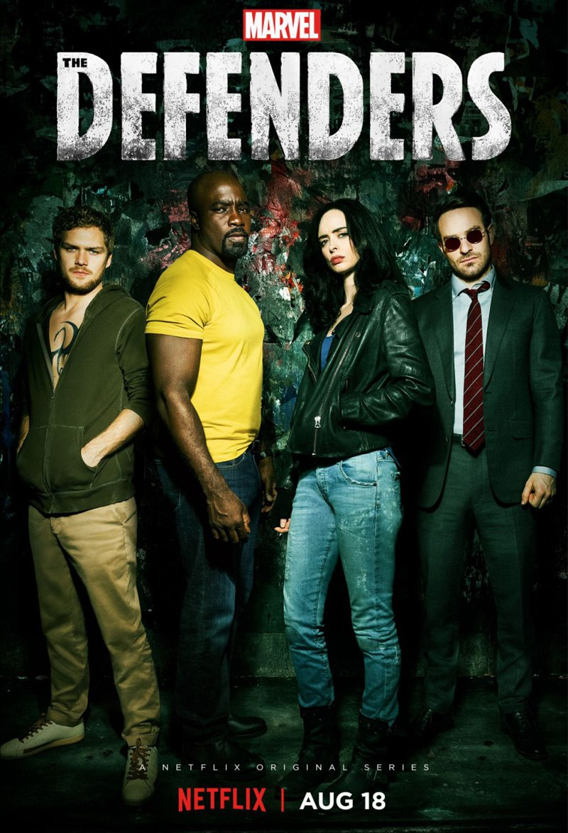 The Defenders kapak