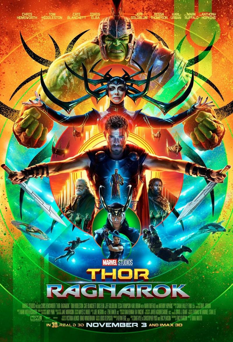 Thor: Ragnarok kapak