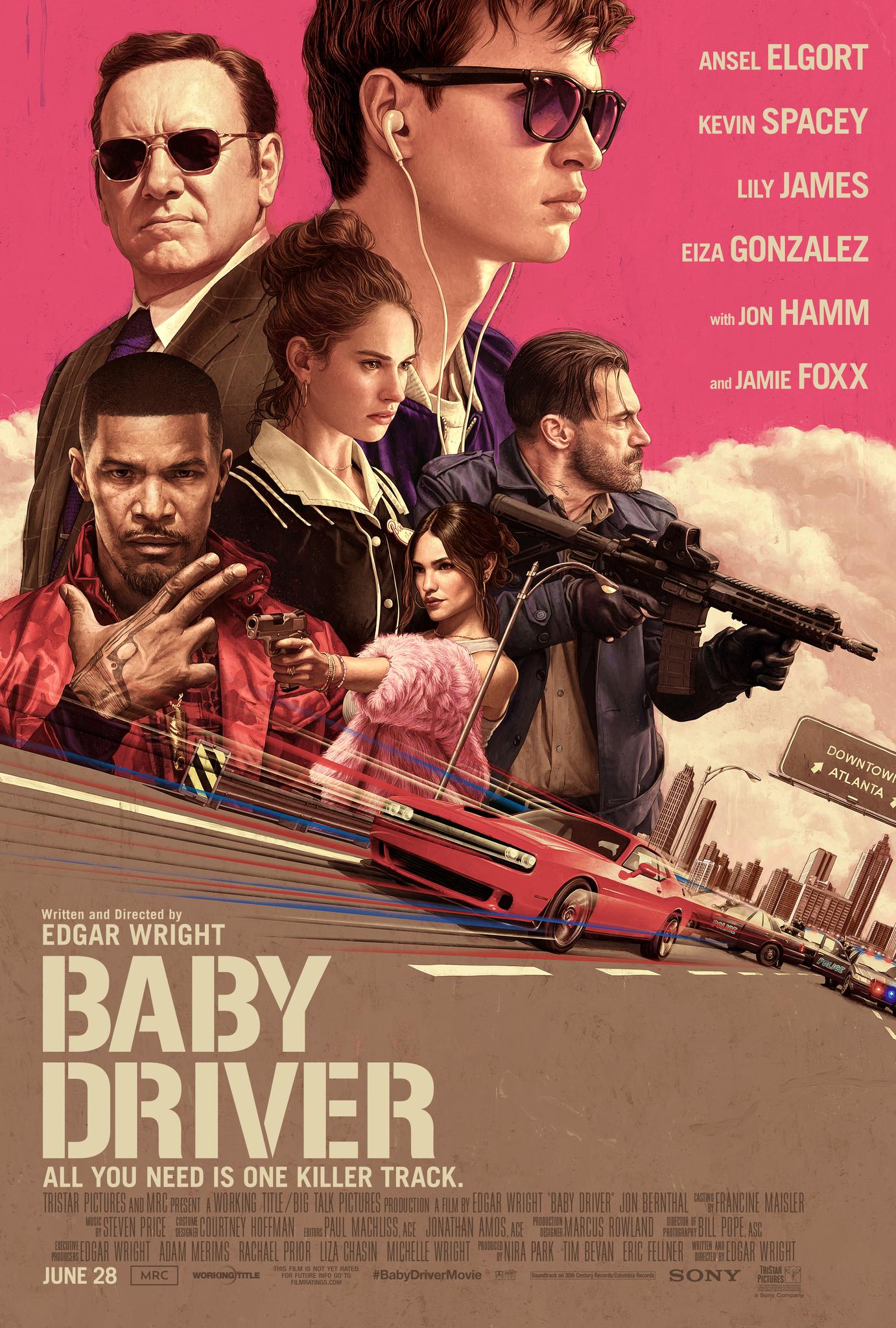 Baby Driver kapak
