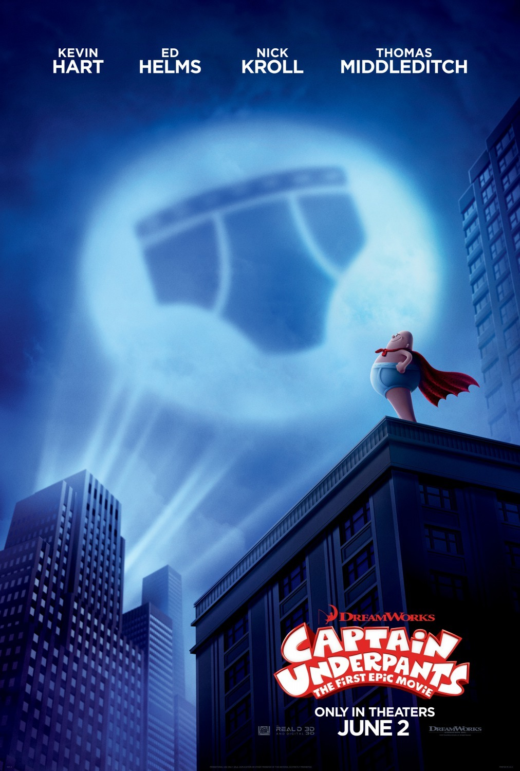Captain Underpants: The First Epic Movie kapak
