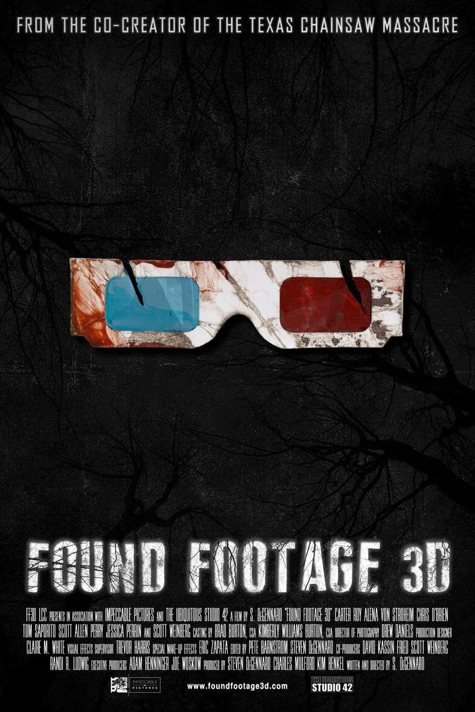 Found Footage 3D kapak
