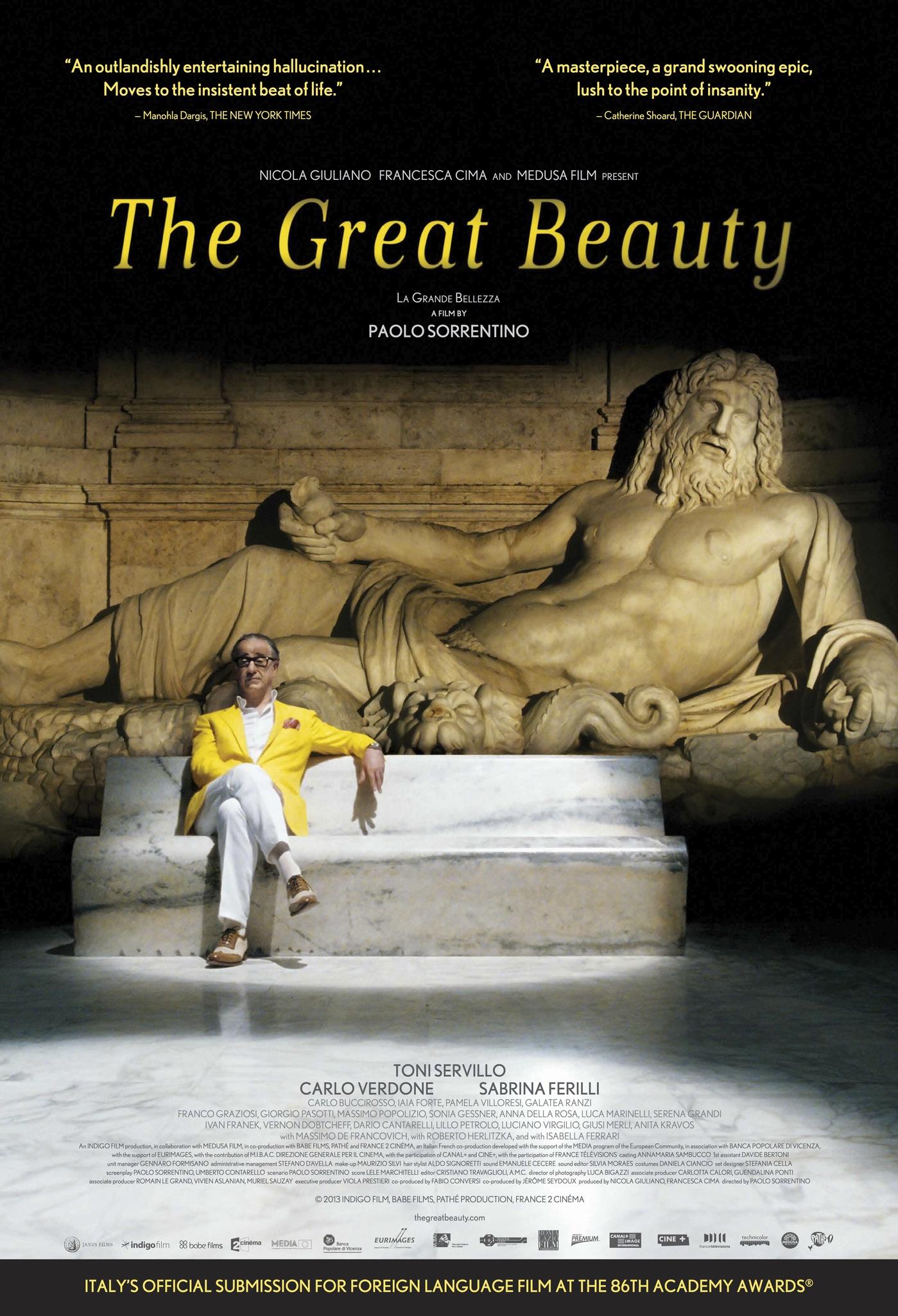 The Great Beauty kapak