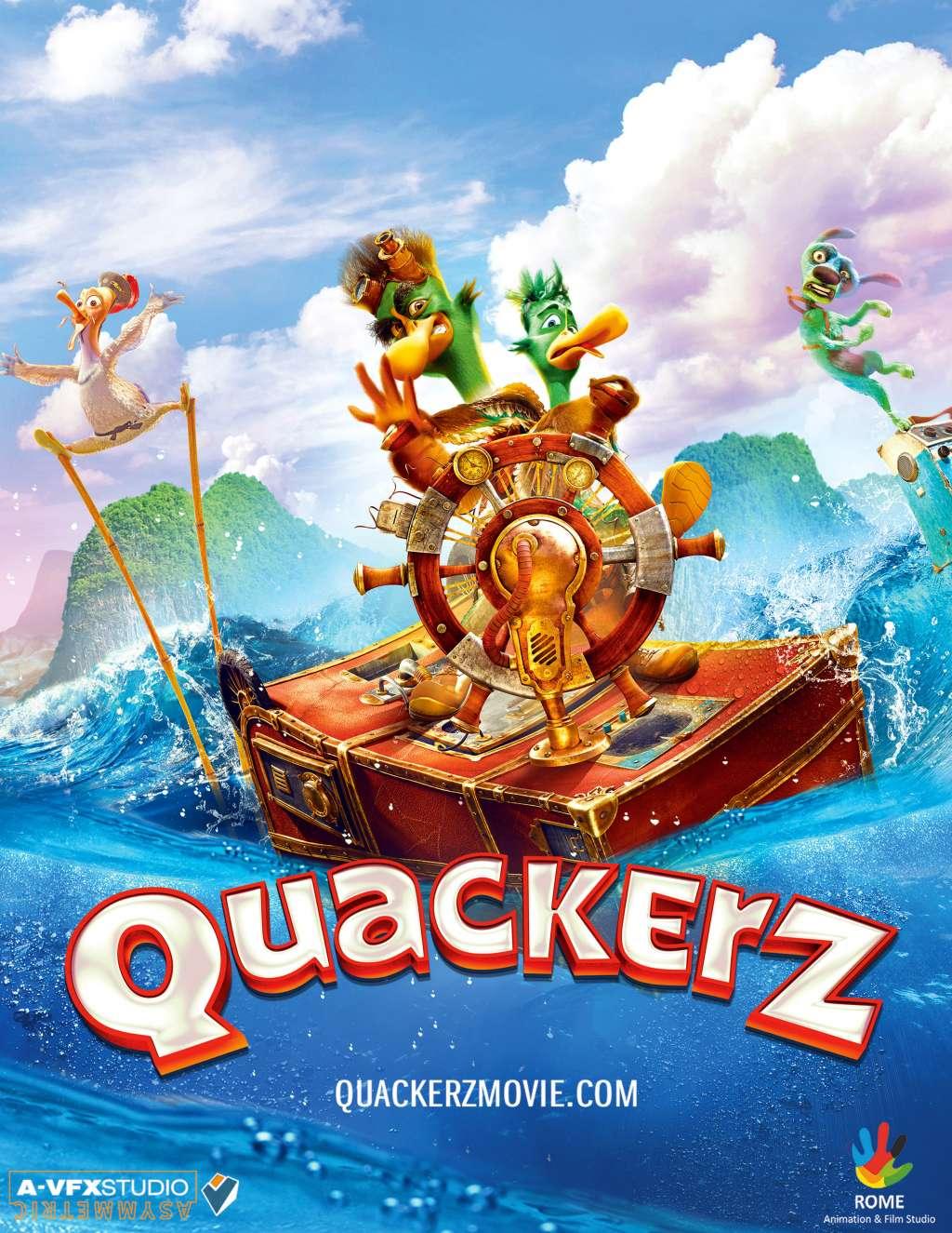 Quackerz kapak