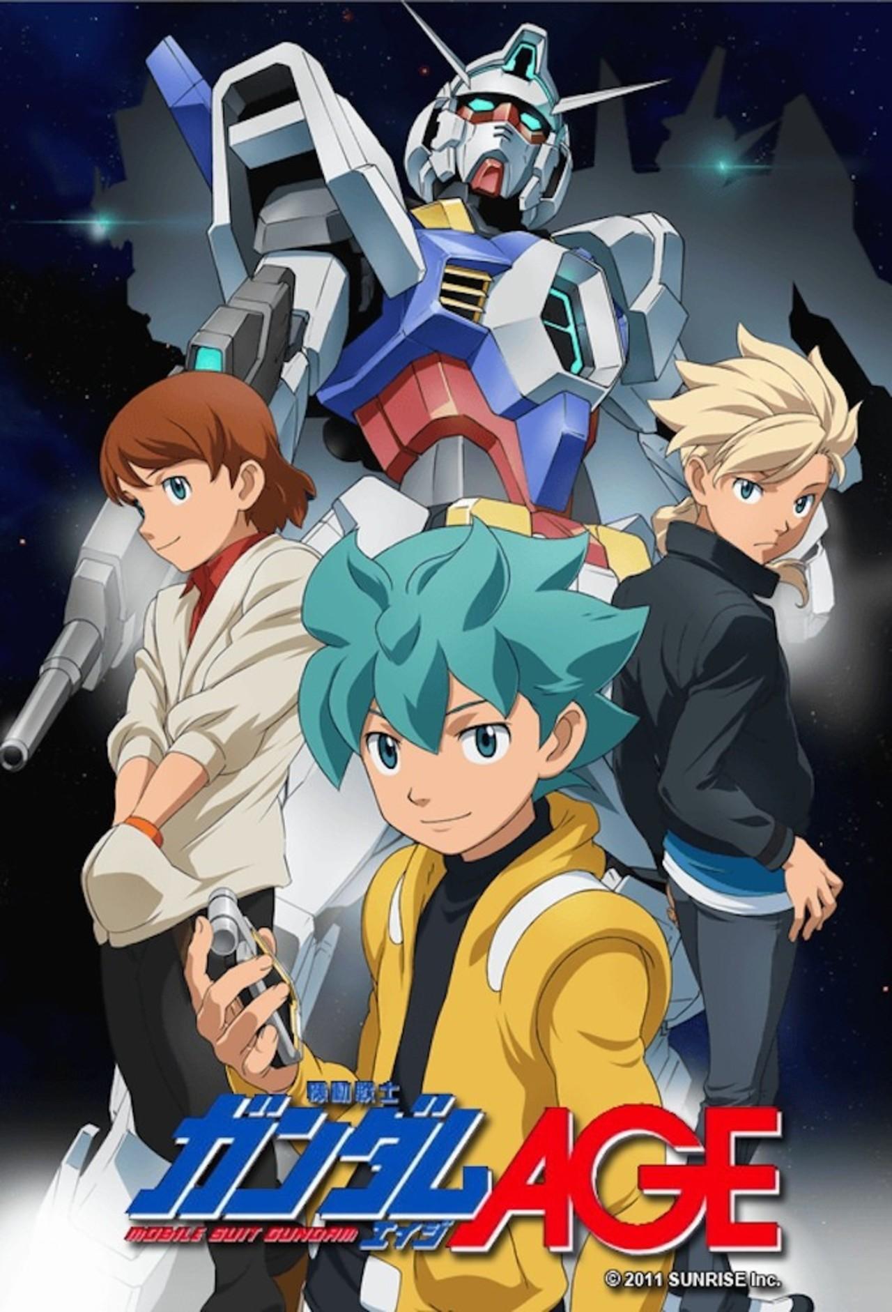 Mobile Suit Gundam AGE kapak
