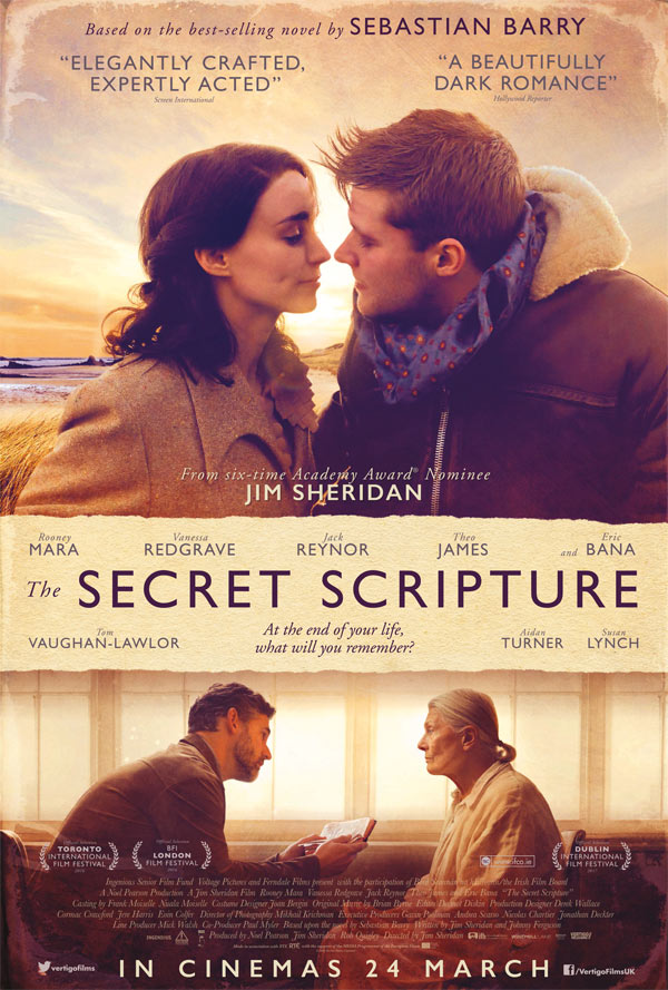 The Secret Scripture kapak