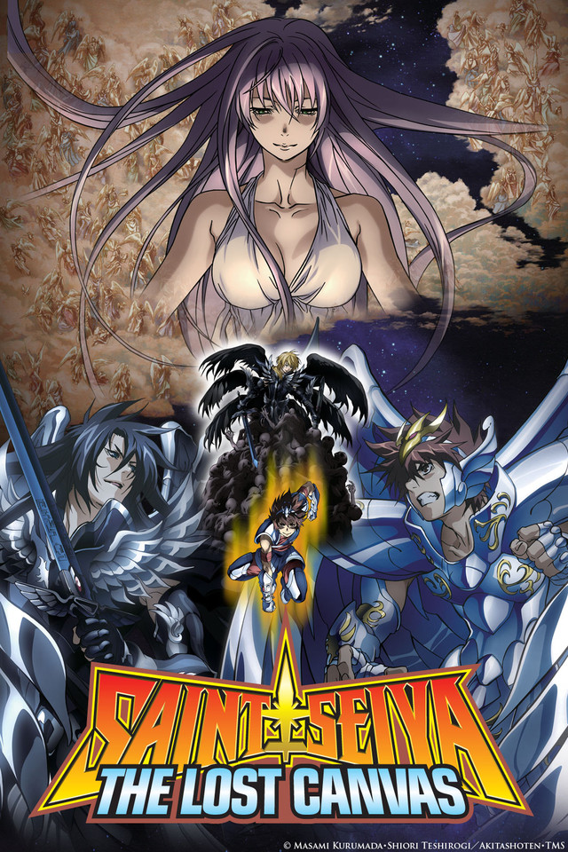 Seinto Seiya: The Lost Canvas - Meio Shinwa kapak