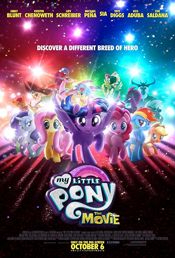 My Little Pony: The Movie kapak