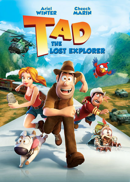 Tad: The Explorer kapak
