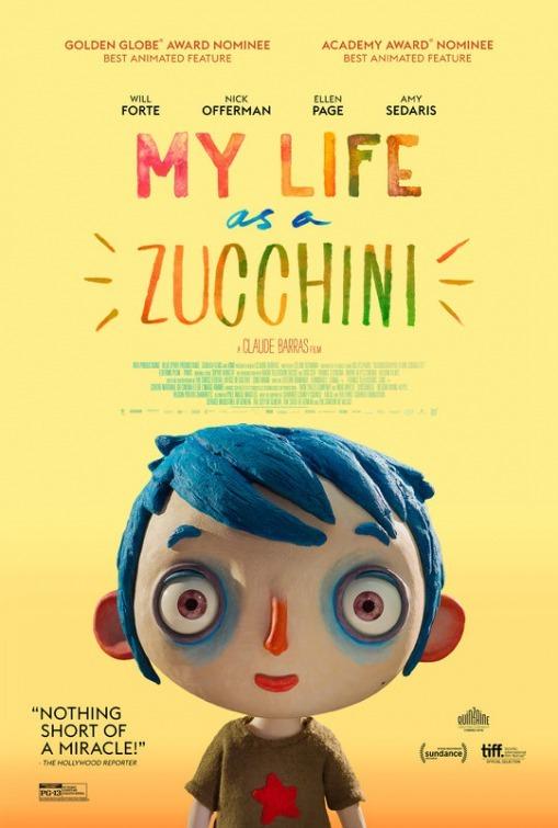 My Life as a Zucchini kapak