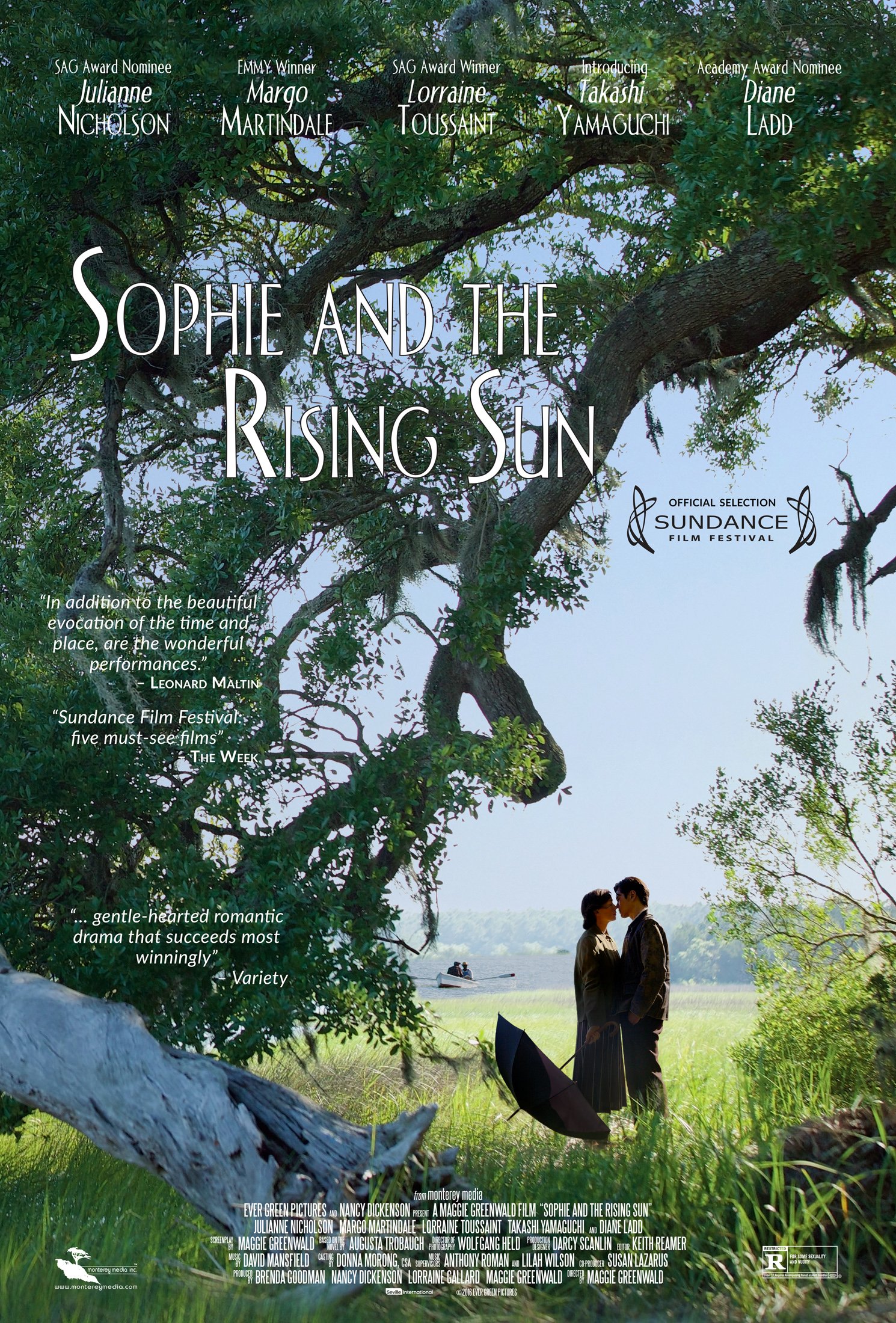 Sophie and the Rising Sun kapak