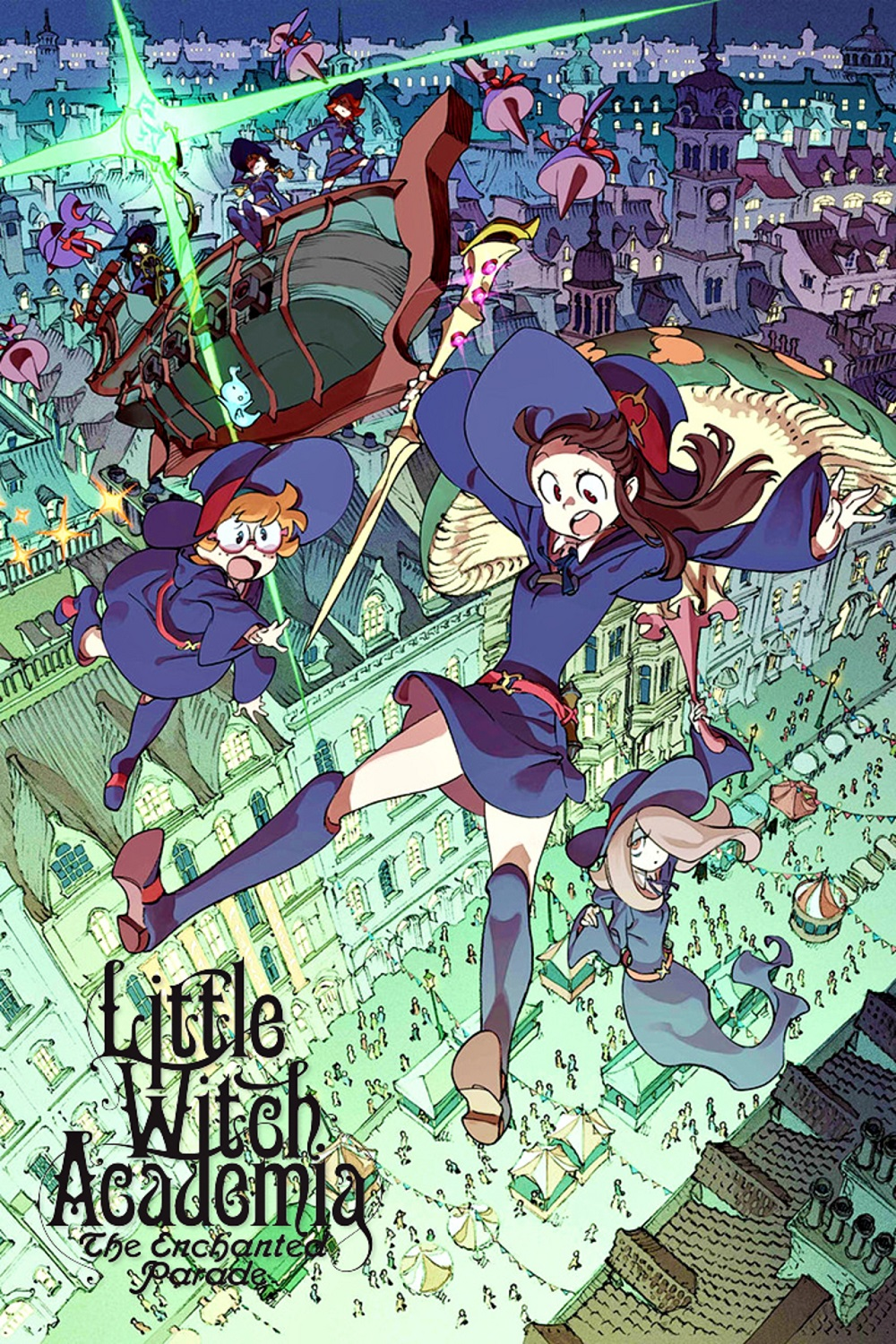 Little Witch Academia: The Enchanted Parade kapak