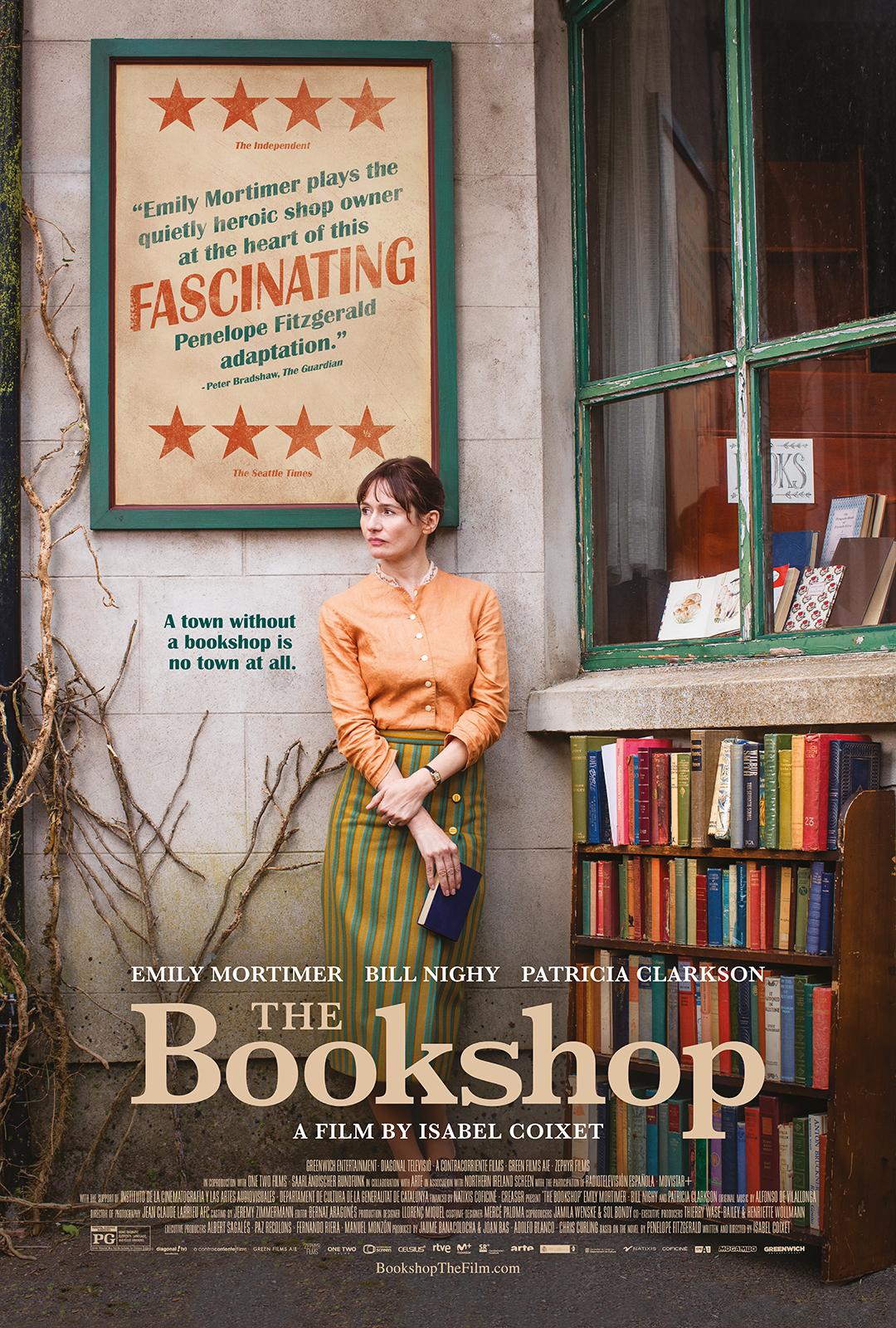 The Bookshop kapak
