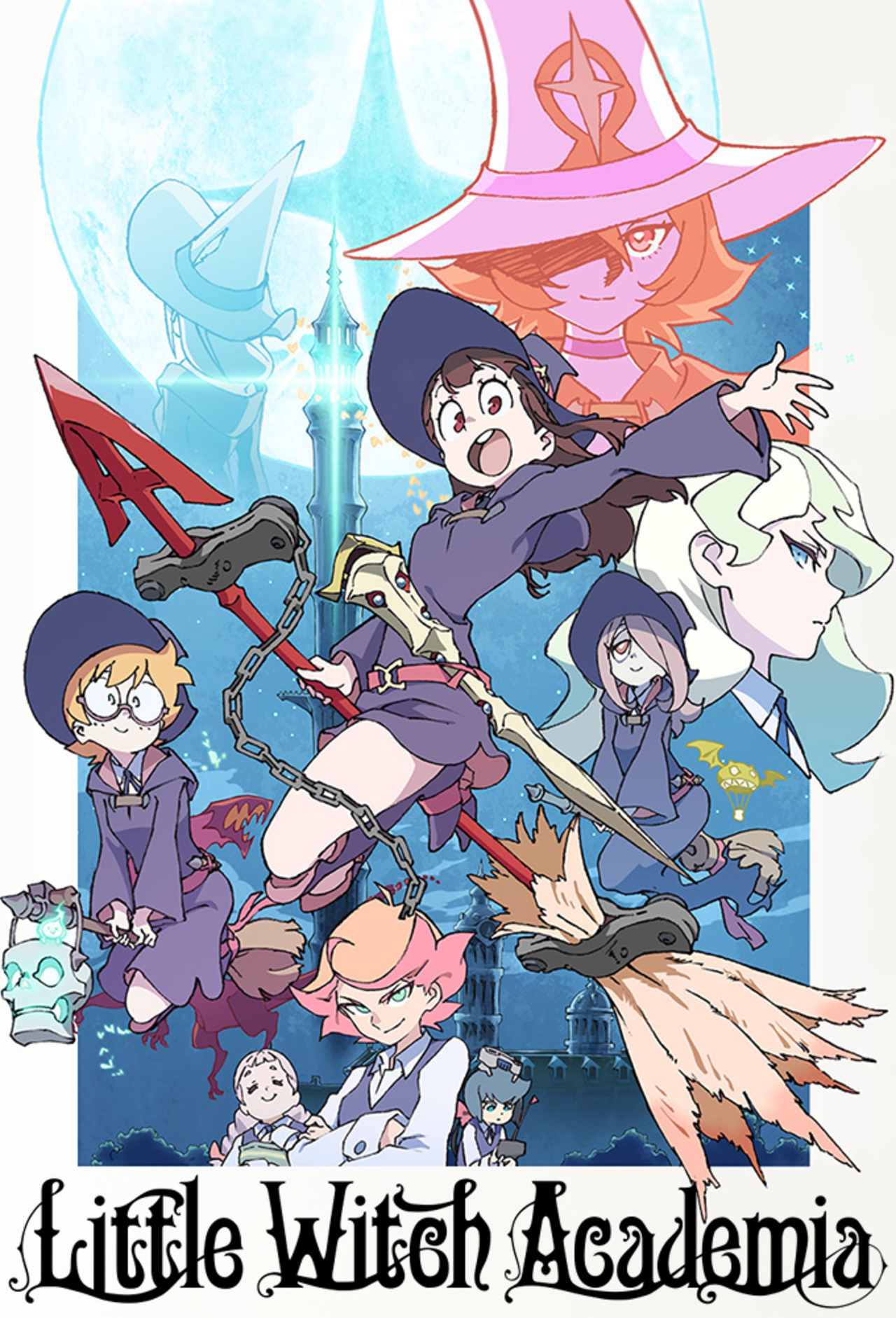 Little Witch Academia kapak