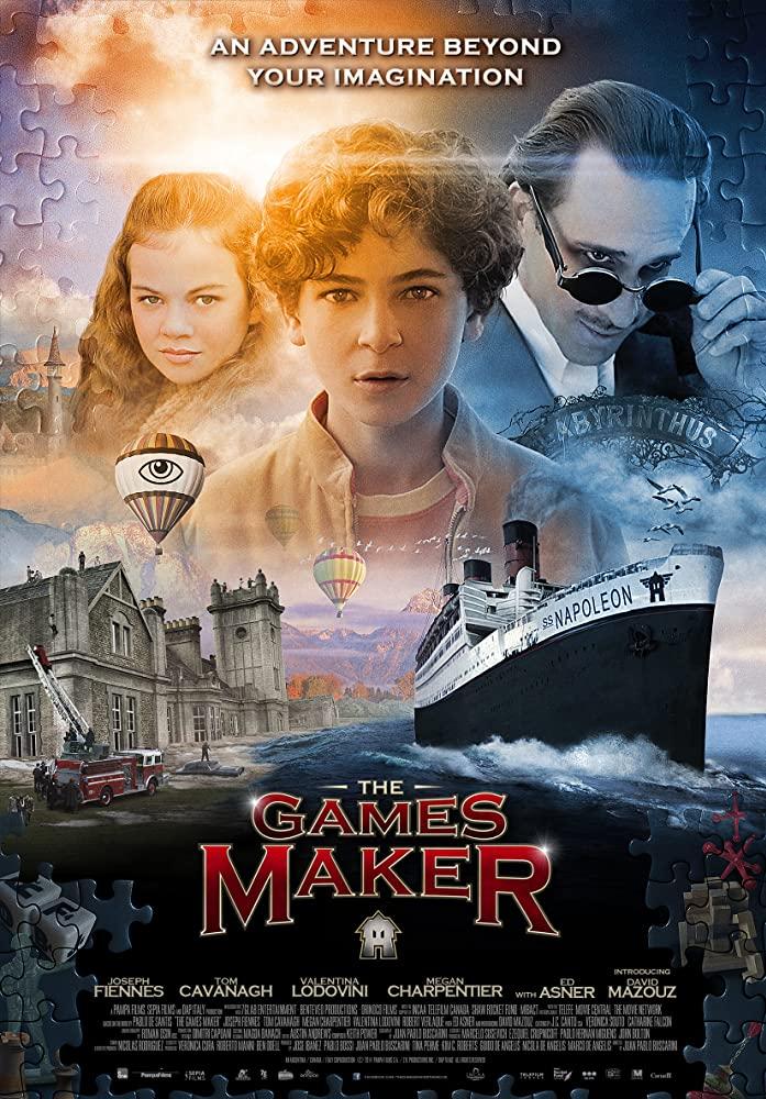 The Games Maker kapak