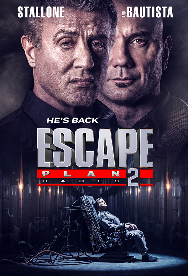 Escape Plan 2: Hades kapak