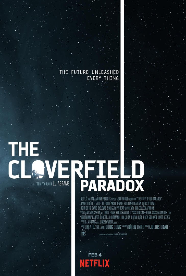 The Cloverfield Paradox kapak