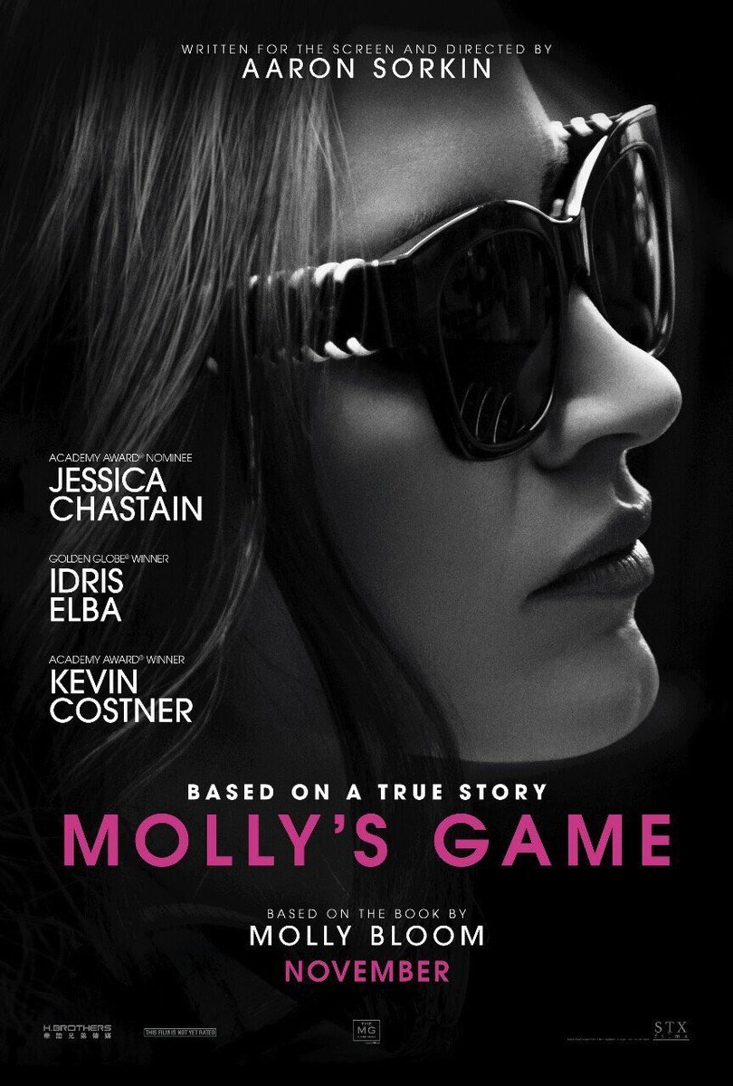 Molly's Game kapak