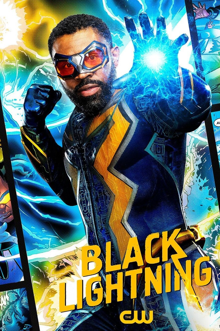 Black Lightning kapak
