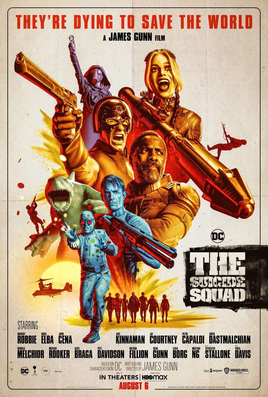 The Suicide Squad kapak