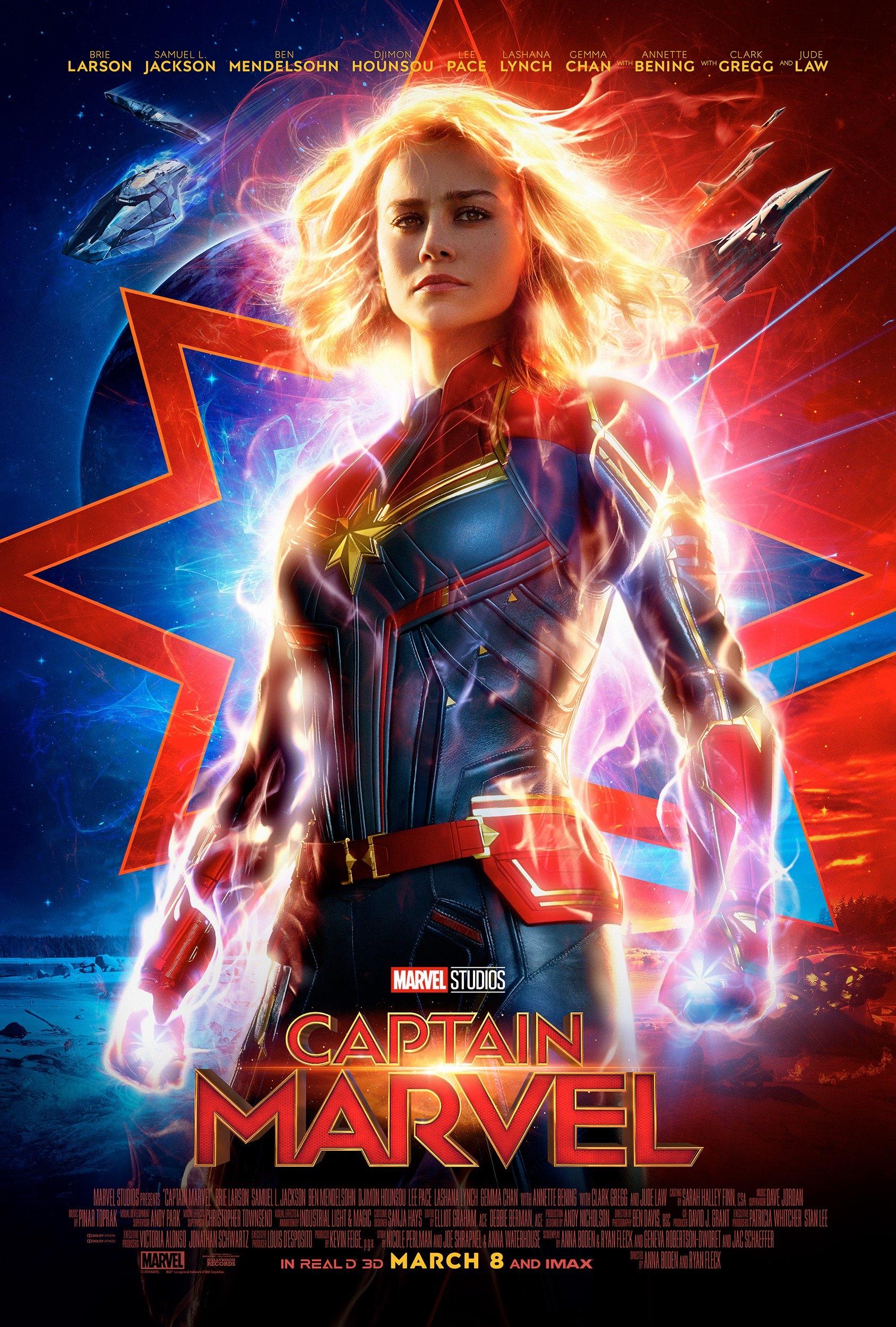 Captain Marvel kapak