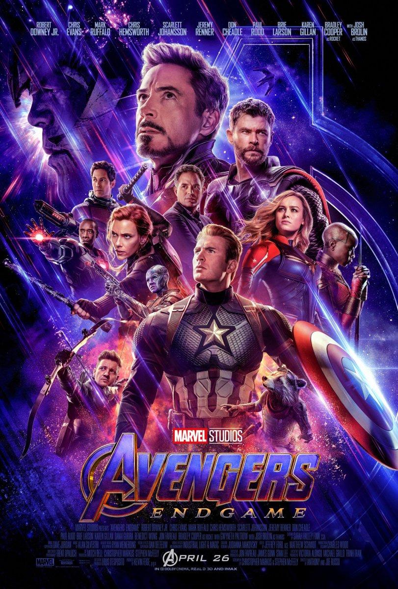 Avengers: Endgame kapak