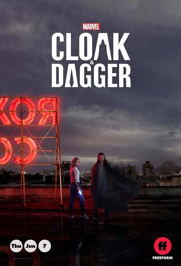 Cloak & Dagger kapak