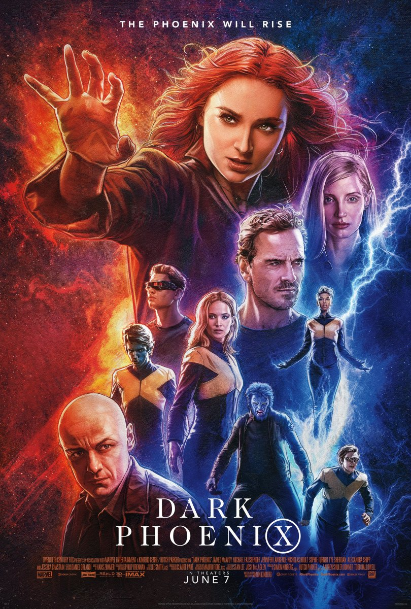 X-Men: Dark Phoenix kapak