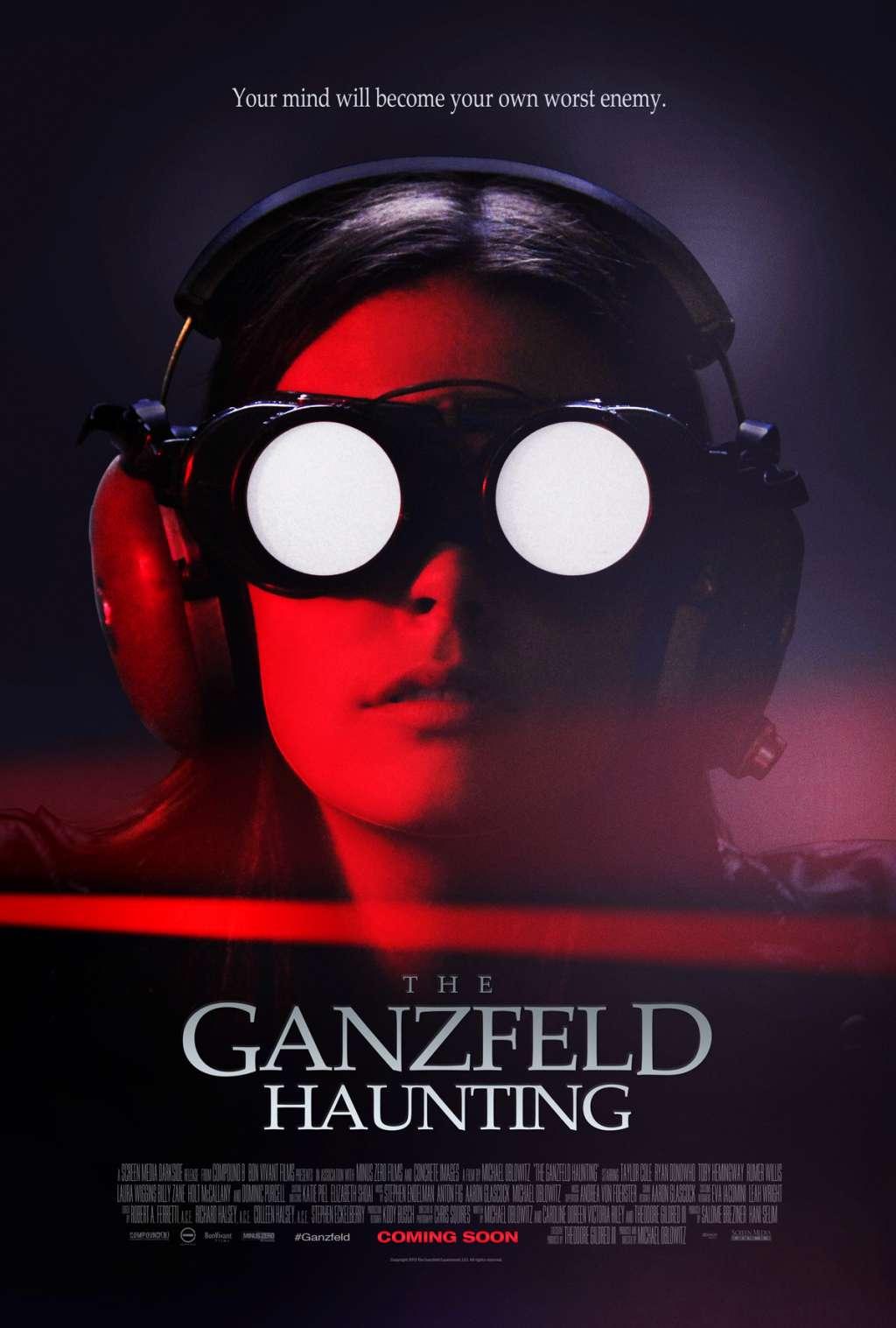 The Ganzfeld Haunting kapak