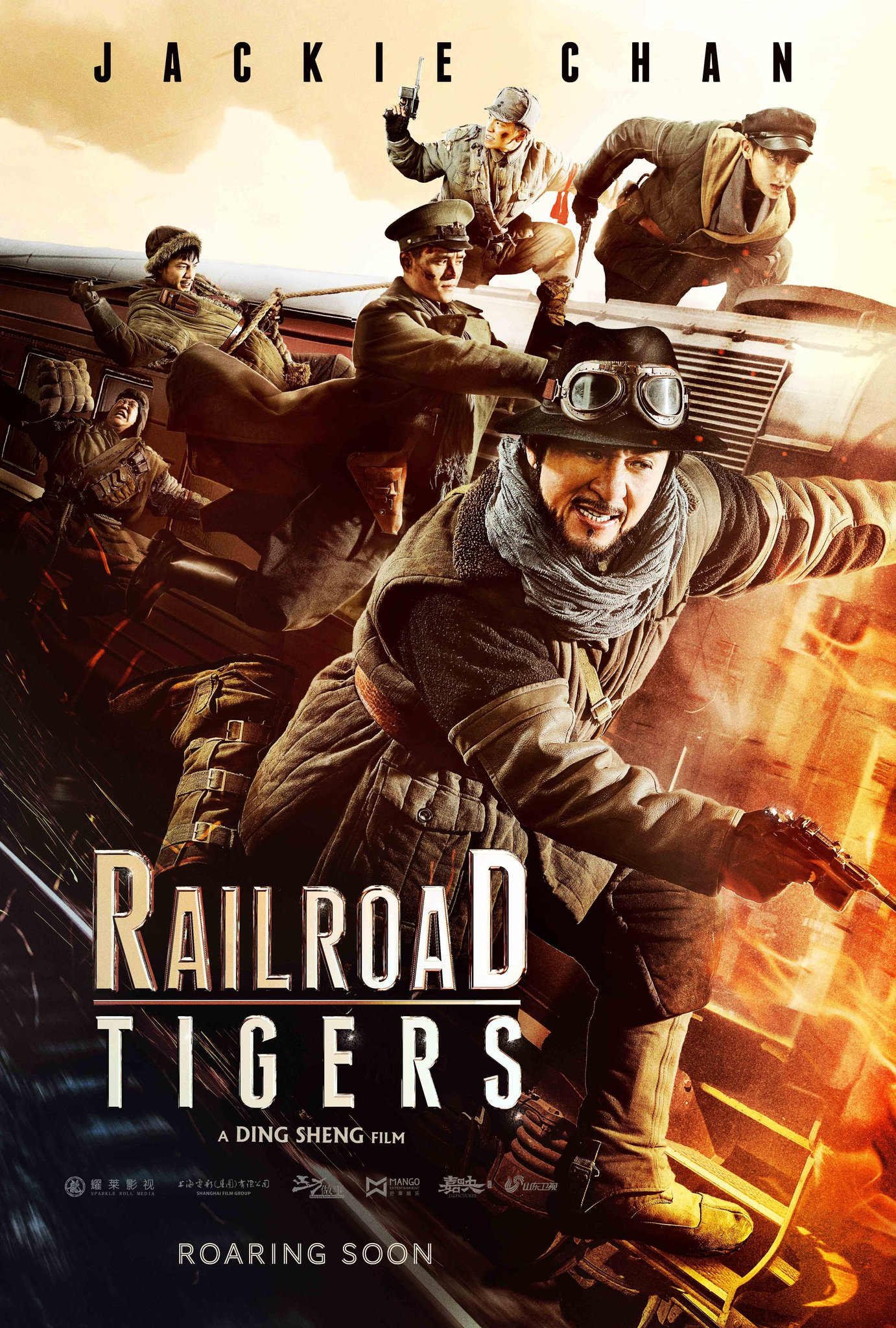 Railroad Tigers kapak