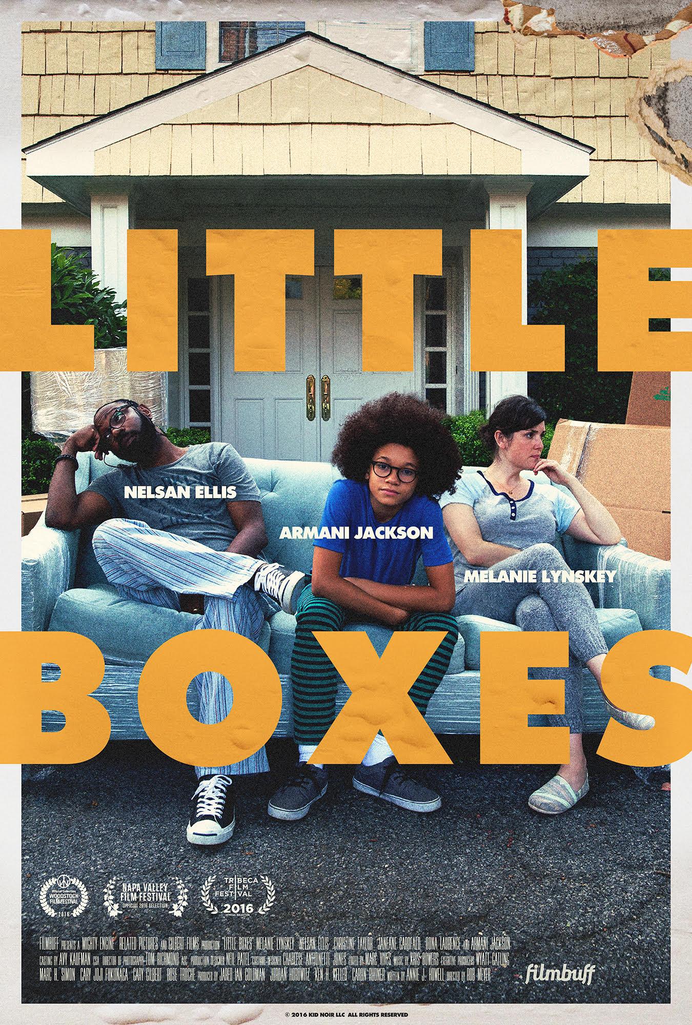 Little Boxes kapak
