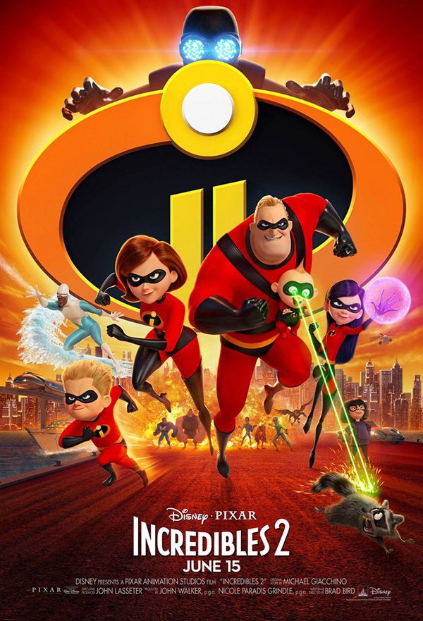 Incredibles 2 kapak